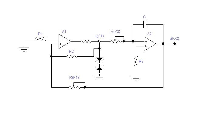 方波-三角波发生器