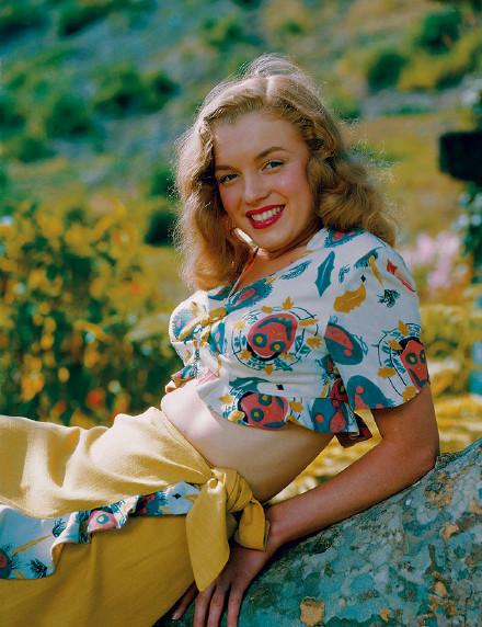 你们见过年轻时的玛丽莲梦露吗